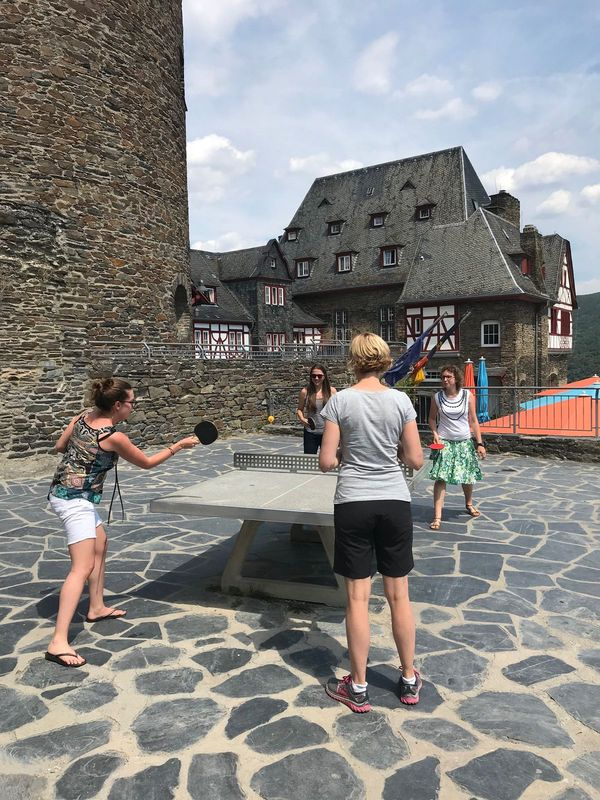 Table Tennis Final Plus Castle