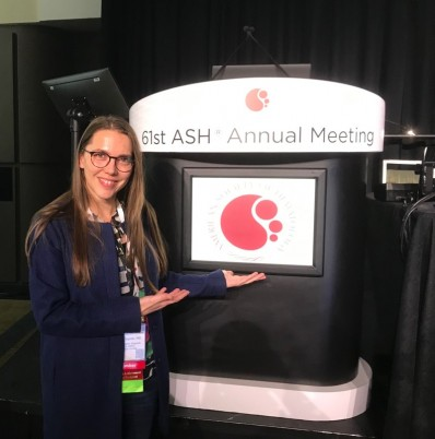 Ruzhica Bogeska at ASH 2019